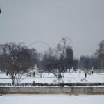 il a neigé aux Tuileries