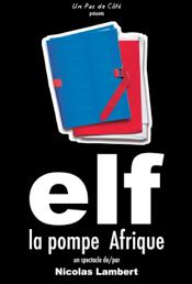 Elf, la pompe Afrique (affiche)